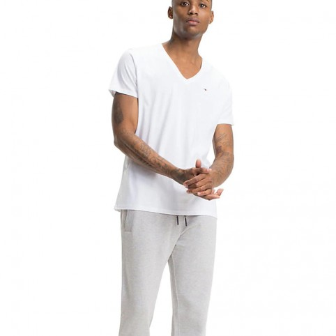 T-Shirt COL V TOMMY JEANS