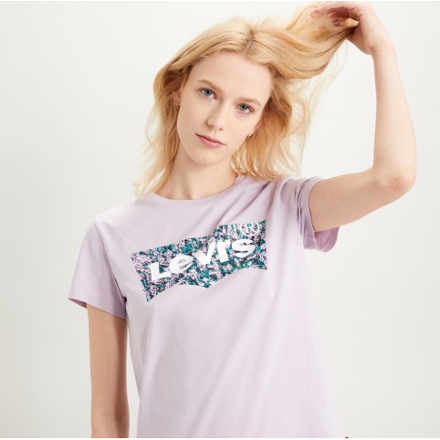 T-Shirt Levi's® The Perfect Tee - Batwing Floral
