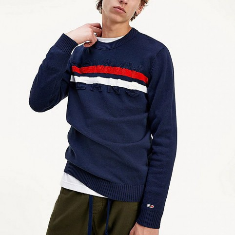 Pull Maille Tommy Jeans