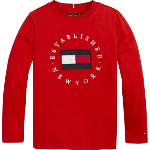 T-Shirt Tommy Hilfiger manches longues