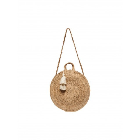 Sac rond paille Only
