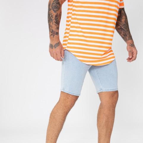 Bermuda en jeans skinny